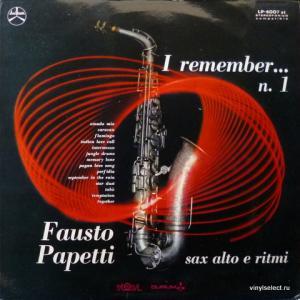 Fausto Papetti - I Remember... N°1