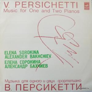 Vincent Persichetti - Music For One And Two Pianos / Музыка Для Одного И Двух Фортепиано