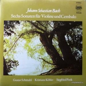 Johann Sebastian Bach - Sechs Sonaten Für Violine Und Cembalo, BWV 1014-1019