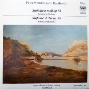 Felix Mendelssohn - Sinfonie a-moll op.56 (Schottische) / Sinfonie A-dur op.90 (Italienische)