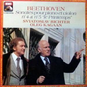 Ludwig van Beethoven - Sonates №4 & 5 Pour Piano Et Violon (feat. S.Richter & O. Kagaan)