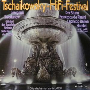 Piotr Illitch Tchaikovsky (Петр Ильич Чайковский) - Tschaikowsky-HiFi-Festival: Hamlet / Francesca Da Rimini /  Der Sturm... (feat. J.Swetlanow)