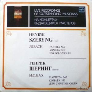 Johann Sebastian Bach - Partita No.2, Sonata No.3 For Solo Violin (feat. H.Szeryng)