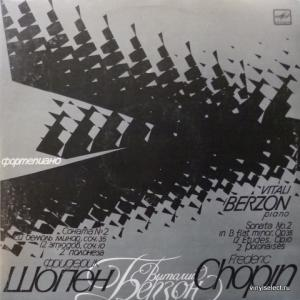 Frederic Chopin - 12 Etudes, Sonata №2 For Piano, Andante Spianato... (feat. V. Berzon)