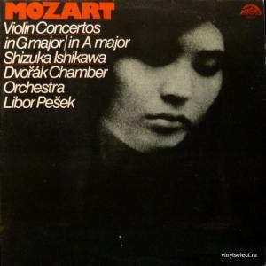 Wolfgang Amadeus Mozart - Violin Concertos In G Major №5, K219 / In A Major №3, K216