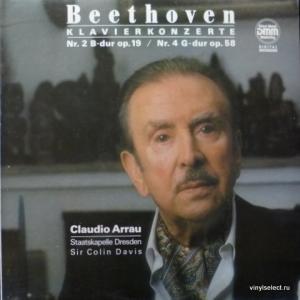Ludwig van Beethoven - Klavierkonzerte - Nr. 2 B-Dur Op. 19 / Nr. 4 G-Dur Op. 58 (feat. Claudio Arrau)