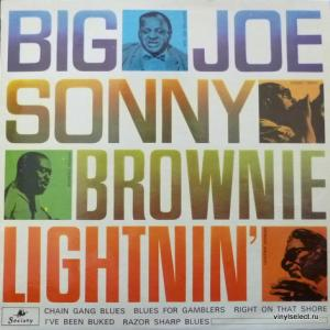Lightnin' Hopkins, Sonny Terry, Brownie McGhee And Joe Williams - Big Joe, Sonny, Brownie, Lightnin'