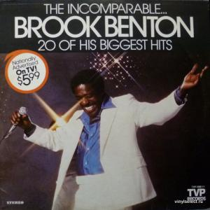 Brook Benton - The Incomparable Brook Benton - 20 Of His Biggest Hits