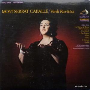 Montserrat Caballe - Verdi Rarities