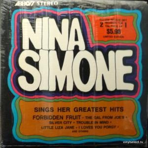 Nina Simone - Sings Her Greatest Hits