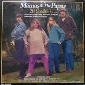 Mamas & Papas,The - 20 Greatest Hits