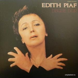 Edith Piaf - Disque D'Or