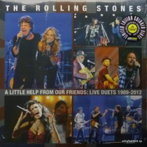 Rolling Stones,The - A Little Help From Our Friends: Live Duets 1989-2012 (Coloured Vinyl)