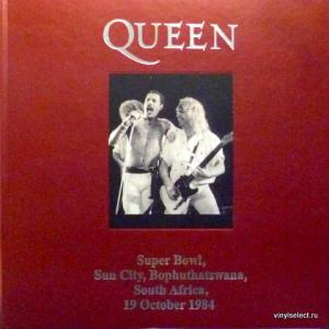 Queen - Super Bowl, Sun City, Boputhatswana, South Africa, 19 October 1984 (Leather Edition)