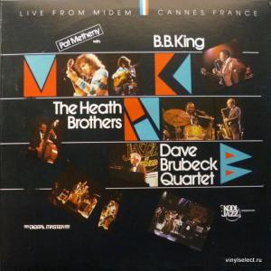 Pat Metheny / Heath Brothers / The Dave Brubeck Quartet / B.B. King - Live In Concert