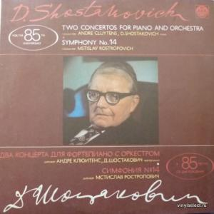 Dmitri Shostakovich (Дмитрий Шостакович) - Два Концерта Для Фортепиано С Оркестром / Симфония No. 14 (feat. М.Ростропович)