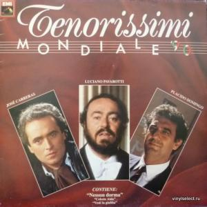 Carreras, Domingo, Pavarotti (The Three Tenors) - Tenorissimi - Mondiale 90