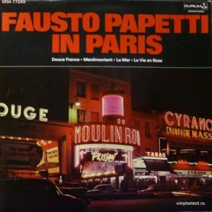 Fausto Papetti - Fausto Papetti In Paris