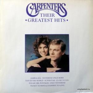 Carpenters - Only Yesterday - Richard & Karen Carpenter's Greatest Hits