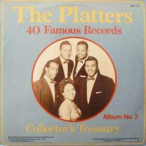 Platters, The - 40 Famous Records: Collector's Treasury. Album No.2
