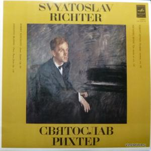 Святослав Рихтер (Sviatoslav Richter) - R. Schumann - Bunte Blätter Op.99 / J. Brahms - Aus 6 Klavierstücke Op.118