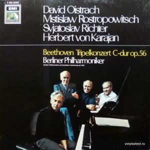 Ludwig van Beethoven - Tripelkonzert C-Dur Op.56 (feat. D.Oistrach, M.Rostropovich, S.Richter, H.Von Karajan)