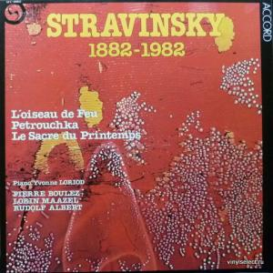 Игорь Стравинский (Igor Stravinsky) - Stravinsky 1882-1982: L'Oiseau De Feu, Petrouchka, Le Sacre Du Printemps