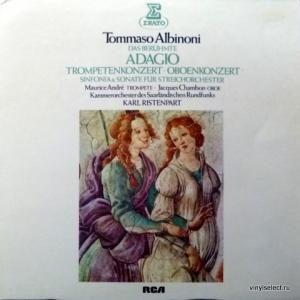 Tomaso Albinoni - Adagio / Trompetenkonzert / Oboenkonzert / Sinfonia & Sonate Fur Streichorchester