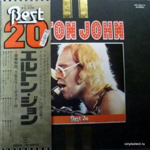 Elton John - Best 20 (+ Poster!)