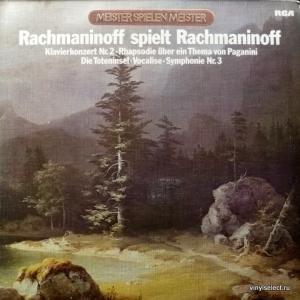 Сергей Рахманинов (Sergei Rachmaninoff) - Rachmaninoff Spielt Rachmaninoff (feat. L.Stokowski & Philadelphia Orchestra)