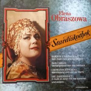 Елена Образцова (Elena Obraztsova)  - Elena Obraszowa Singt Berühmte Opernarien