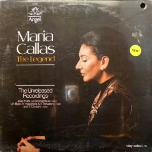 Maria Callas - The Legend: The Unreleased Recordings
