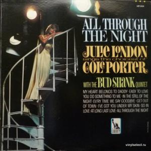 Julie London - All Through the Night: Julie London Sings the Choicest of Cole Porter (feat. The Bud Shank Quintet)