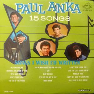 Paul Anka - Songs I Wish I'd Written