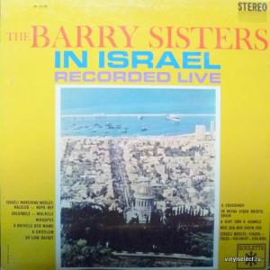 Barry Sisters, The - The Barry Sisters In Israel - Recorded Live