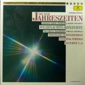 Antonio Vivaldi / Tomaso Albinoni / Johann Pachelbel - Die Vier Jahreszeiten / Adagio / Kanon Und Gigue / Weihnachts-Konzerte