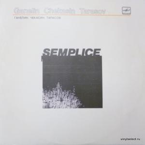 Vyacheslav Ganelin (Вячеслав Ганелин) - Ganelin, Chekasin, Tarasov – Semplice