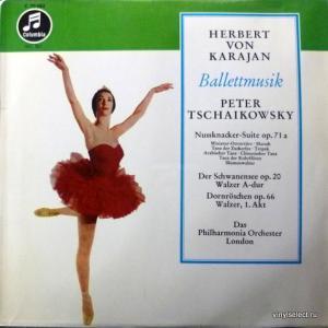 Piotr Illitch Tchaikovsky (Петр Ильич Чайковский) - Ballettmusik. Nussknacker-Suite - Schwanensee - Dornröschen (feat. Herbert Von Karajan)