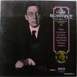 Сергей Рахманинов (Sergei Rachmaninoff) - The Complete Rachmaninoff, Vol.3 (3LP Box)