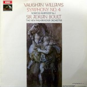 Ralph Vaughan Williams - Symphony No. 4 / Norfolk Rhapsody No. 1 (feat. Sir Adrian Boult, The New Philharmonia Orchestra)