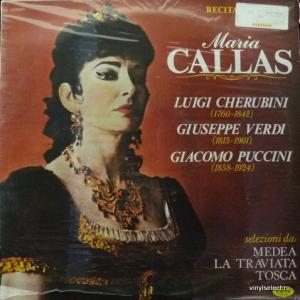 Maria Callas - Recital 5 (L. Cherubini, G.Verdi, G.Puccini)