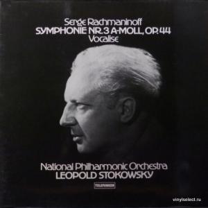 Сергей Рахманинов (Sergei Rachmaninoff) - Symphonie Nr.3 A-Moll, Op.44 / Vocalise (feat. National Philharmonic Orchestra, Leopold Stokowsky)