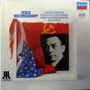 Сергей Рахманинов (Sergei Rachmaninoff) - Sämtliche Symphonien (feat. Orc. de la Suisse Romande, London Phil. Orc, Walter Weller)