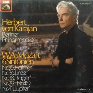 Wolfgang Amadeus Mozart - 6 Sinfonien (Herbert von Karajan, Berliner Philharmoniker)