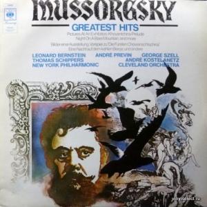 Modest Mussorgsky (Модест Мусоргский) - Greatest Hits (feat. T.Schippers, L.Bernstein, A.Previn, G.Szell, A. Kostelanetz...)