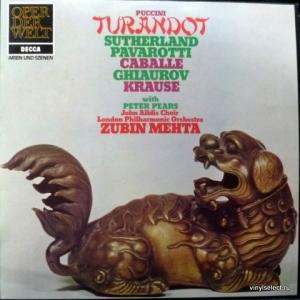 Giacomo Puccini - Turandot - Arien & Szenen (feat. J.Sutherland, L.Pavarotti, M.Caballé, N.Ghiaurov...)