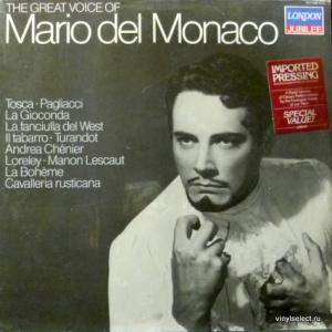 Mario del Monaco - The Great Voice Of Mario del Monaco - Italian Operatic Arias