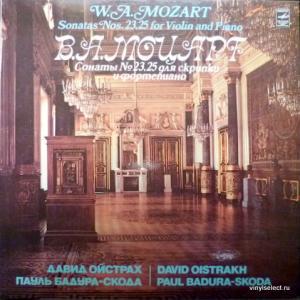 Wolfgang Amadeus Mozart - Sonatas Nos 23,25 For Violin And Piano (feat. David Oistrach, Paul Badura-Skoda) (Export Edition)