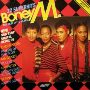 Boney M - 32 Super Hits - The Best Of 10 Years (New Non Stop Digital Remix 86)