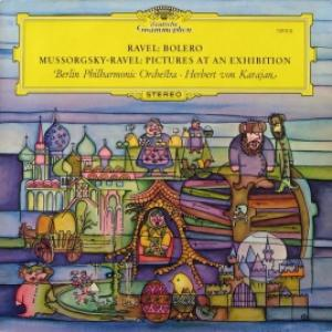 Herbert Von Karajan - Ravel - Bolero / Mussorgsky - Pictures At An Exhibition